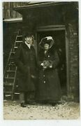 Selby, Rare Rp Barkston Ash Election 1910 Mr/mrs George Lane Fox Conservative