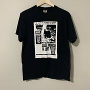 Last House On The Left Shirt Rare Wes Craven Grindhouse Size Medium Horror Movie