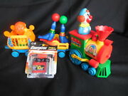 Collectibles Vintage Toys Circus Train With Clown Juggling Seals Lion Rare