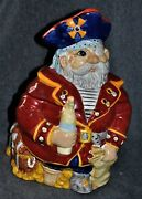 Cookie Jar Pirate Collectible Nautical Theme Kitchen And Home Cookie Jars