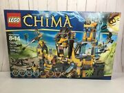 Lego Legends Of Chima The Lion Chi Temple 70010. New Sealed In Box. Nisb.