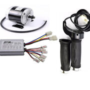 24v 350w Dc Motor Brushed Speed Controller Grips Electric Bicycle Scooter E-bike