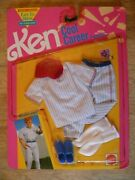 1991 Nos New Old Stock In Box Vintage Toy Doll Clothes Ken Barbie Fashion Shoes