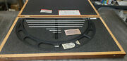 Starrett 224m 400-500mm Outside Micrometer Set With Standards In Case. Lot4