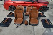 2014 W218 Mb Cls63 Cls550 Amg Sport Front And Rear Seats Seat W/ Door Panel Set