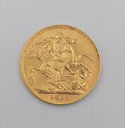 1911 King George London Struck Gold Sovereign Scarce