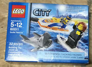 Lego City Surfer Rescue 60011 In Damaged Box