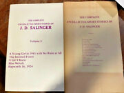 First Edition Of The Complete Uncollected Short Stories Of J.d. Salinger
