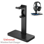 Four-in-one Wireless Charger Mobile Phone Watch Headset Holder Universal Kit