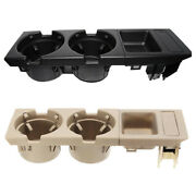 2xcar Center Console Water Cup Holder Beverage Bottle Holder Coin Tray