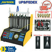 Autool Ct200 Ultrasonic Fuel Injector Cleaner Machineandtester For Car Motorcycle