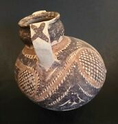 Ancient Neolithic Majiayao Culture Painted Vessel - China - 3300 To 2000 Bc