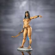Tin Toy Soldiers Painted Elite Figure Egyptian Queen 75mm