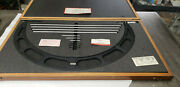 Starrett 224m 500-600mm Outside Micrometer Set With Standards In Case. Lot3