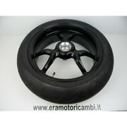 Wheel Rear Wheel With Rubber Ducati Multistrada 1200 2016