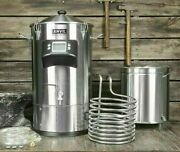 Anvil Foundryandtrade - 6.5 Gallon - Automatic Stainless Steel Beer Brewing Kettle Pot