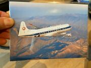All Nippon Airways Japan1960s Airline Issue10 Postcard Set Viscount 727 737 F27
