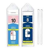 8 Pack Cruise Ship Luggage Tags Narrow For Royal Caribbean And Celebrity