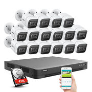 Annke 8mp 4k Video Security System 16ch H265+ Dvr Ip67 Camera Home Night Vision