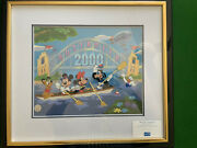 Disney Limited Edition Hand Painted Year 2000 Animation Cel