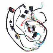 50cc-110cc Cdi Wire Harness Stator Assembly Wiring Coolster Atv Electric Quad