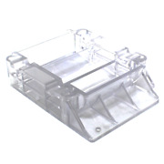 Hopper Bottom Ungrooved 8 Oz Clear For Hollymatic Super 54