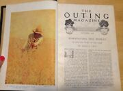 The Outing Magazine October 1908- March 1909 Vol. Liii Nos 1 - 6 Bound Volume