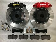 Astra H 362mm 6pot Ap Racing Floating Front Brake Kit Red Calipers Rs29 Pads