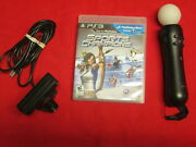 Playstation Move Starter Bundle For Playstation 3 Ps3 Very Good 1608