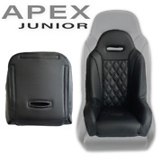 New Black Apex Junior Seat By Aces Racing--order Today