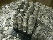 Old Us Bullion Silver Coin Collection Lot, 90 40 Currency Estate