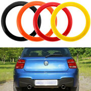Rear Logo Ring Cover Trim Decorative For Bmw 1 Series F20/f21 2011-2019