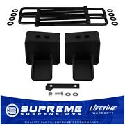 4.5 Inch Tall Rear Lift Blocks For 2004-2020 Ford F150 Rwd With U-bolts Included