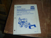 Ford New Holland 555d Tractor Loader Backhoe Hydraulic Service Repair Manual