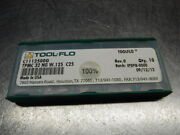 Tool Flo Carbide Grooving Inserts Qty10 Tpmc 32 Ng W.125 C25 Loc2280