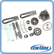 Fit 98-02 Ford Crown Victoria Mercury Lincoln 4.6l Timing Chain Kit Water Pump
