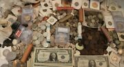 Variety Estate Coin Lot Collection Sale  Currency 90 Silver Bullion Bon. Gold