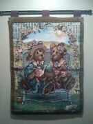 Boyd's Bears And Friends Tapestry 25.5 X 35