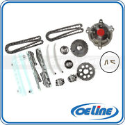 Fit 97-02 Ford F-150 E-150 Econoline Expedition 4.6l Timing Chain Kit Water Pump
