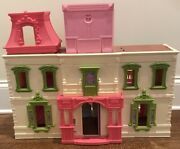 Fisher-price Loving Family Dream Dollhouse 2012, W9729 Lights And Sounds Toy