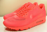 Ds 2011 Nike Air Max 90 Hyperfuse Solar Red Asian 9.5 Retro Vintage