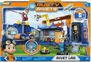 Rusty Rivets - Rivet Lab Playset Exclusive Toys Nickelodeon Brand - New In Box