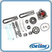 Fit 02-04 Ford Explorer Mercury Mountaineer 4.6l Timing Chain Kit Water Pump
