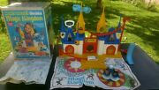 1977 Mickey Mouse Magic Kingdom Weebles Castle Playset Vtg Hasbro Collectible.