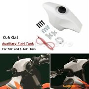 0.6 Gal Front Auxiliary Fuel Tank For Klx250 Wr450f Wr250f Handlebar Oil Tank