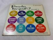 Remember How Great Volume 2 - Andy Williams + Tony Bennett + Percy Faith +++