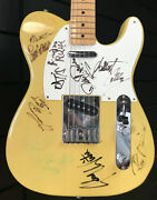 Fender Mij Telecaster 1989 - Autographed By Blues Artists Commissioned By Fender