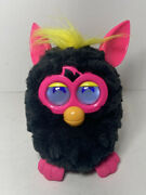 Furby 2012 Hasbro 'a Mind Of Its Own' Black Hot Pink Interactive Toy