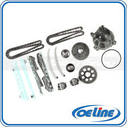 Fit 99-04 Ford Mustang 4.6l Timing Chain Kit Water Pump Set