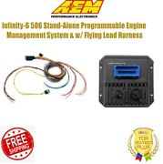 Aem Infinity-6 Stand-alone Engine Management System W/ Flying Lead Harness
